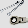 515410 Ключ комбинированный трещоточный шарнирный 10 мм