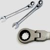 515411 Ключ комбинированный трещоточный шарнирный 11 мм