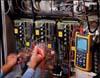 Fluke 124/S - осциллограф промышленный 40 МГц + SCC120
