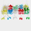 Led светодиоды 3мм, 5мм, 5 цветов, набор 300 штук
