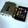 Музыкальный контроллер RGB с пультом 144w288w 12v24v RoHS -