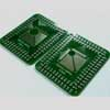 Универсальная DIP плата для чипов TQFP 32-100, 32-64