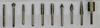 Набор из 10 боров, хвостовик 6 мм