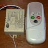 Радиоуправляемый ДВУХ канальный контроллер с пультом в корпусе