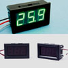 Индикатор напряжения (вольтметр) 0-100V DC Зеленый -