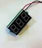 Индикатор напряжения (вольтметр) 80-300V AC Красный