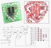 Радиоконструктор RL203. Светодиодное «сердце» - бегущий огонь