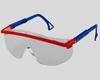 Очки защитные, открытые, механическая и химическая защита.