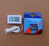 Термометр цифровой с дисплеем -50 +110 с датчиком, белый