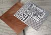 Двухсторонний Текстолит фольгированный 1мм. 200х300мм