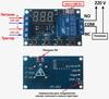 Циклический таймер, реле задержки времени XY-J02USB программируе
