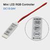 Светодиодный контроллер  Dimmer RGB 3 канальный 12-24v 6A
