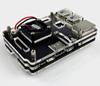 Корпус акриловый для Raspberry Pi2 Pi3 с вентилятором -