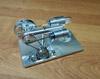 Двигатель Стирлинга D, действующая модель с генератором на 5V