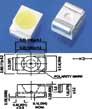 Яркий Светодиод LED SMD 3528 Теплый Белый (комплект 100 штук)