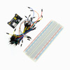 Монтажная Плата + Модуль питания + джампера для Arduino